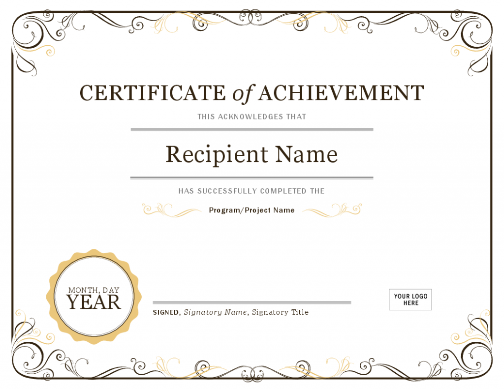 Certificate Enlish